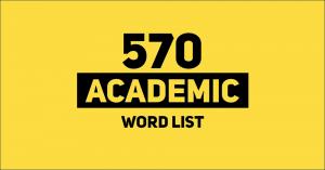 570 academic word list