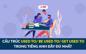 cấu trúc used to, be used to và get used to trong tiếng Anh