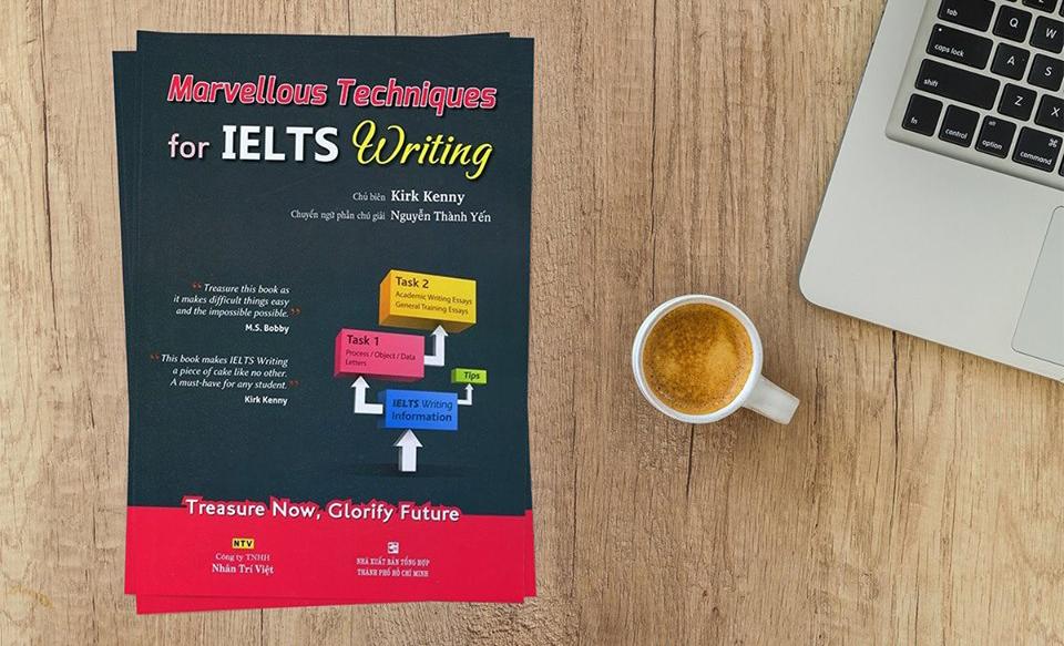 cuốn sách marvellous techniques for ielts writing