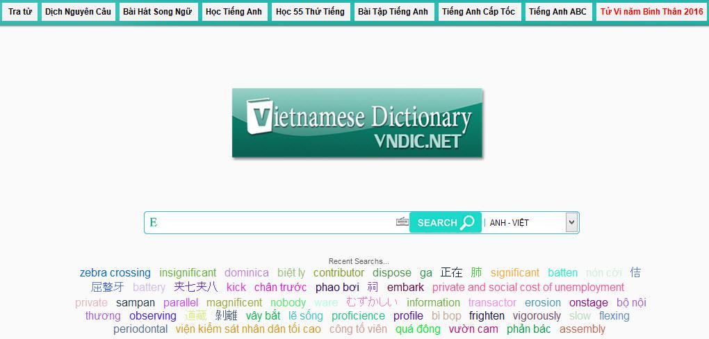 Từ điển Vndic