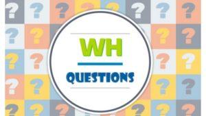 câu hỏi wh questions