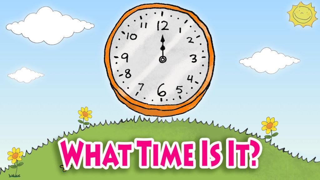 cấu trúc what time