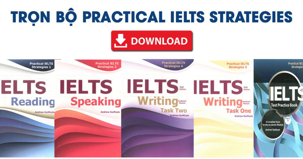 bộ sách Practical IELTS Strategies