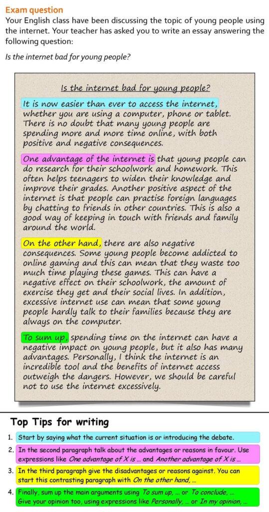 Các Bài Essay mẫu sử dụng từ nối - linking words hiệu quả