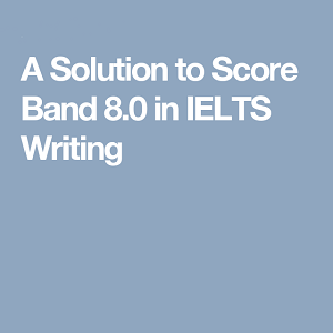 A Solution to score 8.0