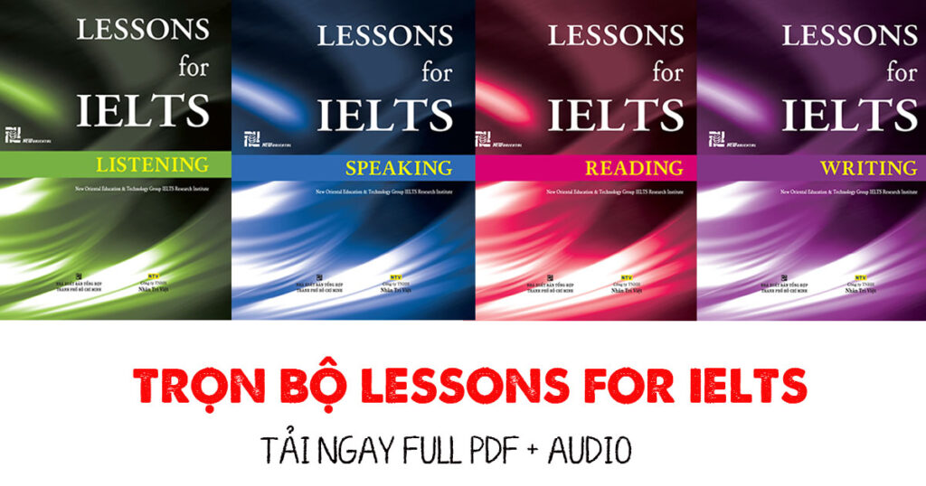 Lessons for IELTS