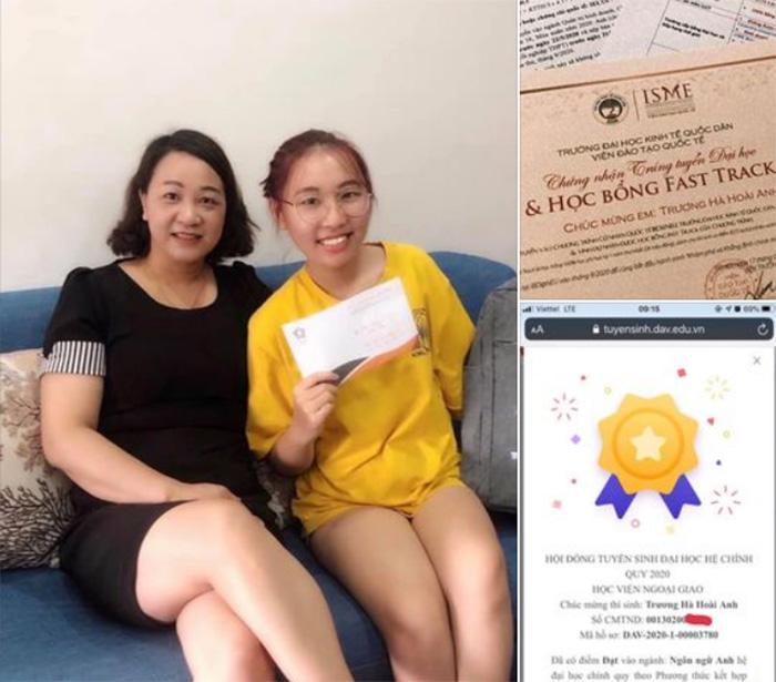 Trương Hà Hoài Anh đạt 7.0 IELTS