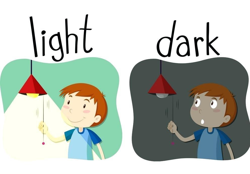 dark – light