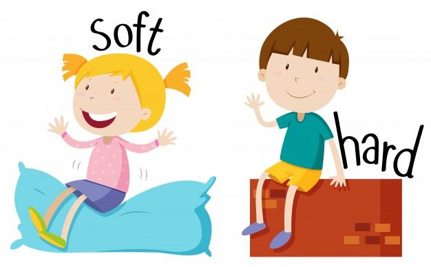 soft – hard