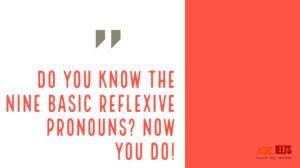 đại từ phản thân reflexive pronouns