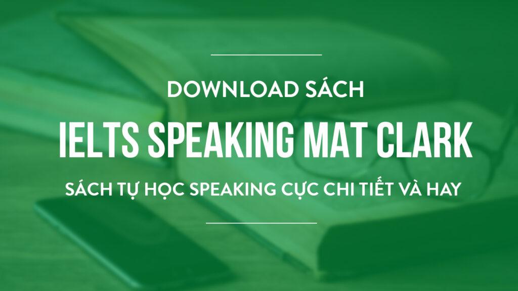 ielts speaking mat clark