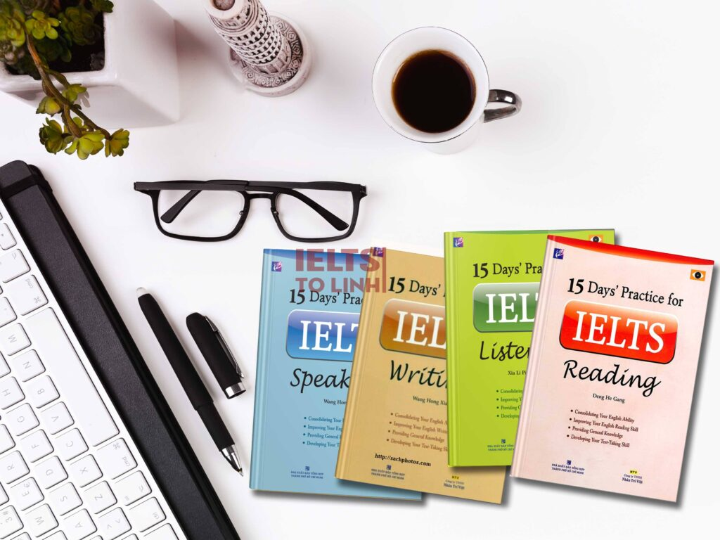 Download trọn bộ sách 15 Days Practice for IELTS 1