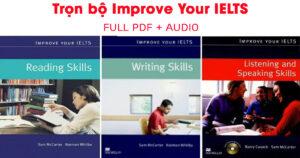 Download trọn bộ 4 Ebook Improve Your IELTS 2
