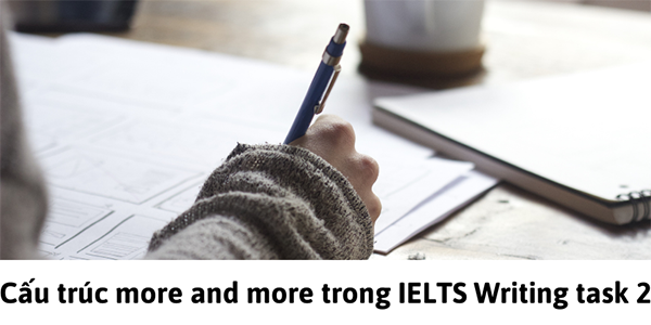 Sử dụng cấu trúc more and more trong IELTS Writing task 2